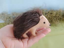 stuffed hedgehog sewing pattern