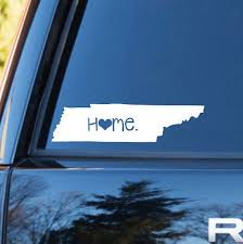 Tennessee Home Decal Tennessee Decal Homestate Decals Love Sticker Love Decal Car Decal Car Stickers Car Decals Personalized Vinyl Decal Tennessee