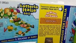 Estrazione Lotteria Italia 2018:biglietti vincenti 1^ 2^ 3 ...