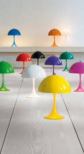 Panthella Mini Table Lamp By Louis Poulsen 5744162555 In 2020 Mini Table Lamps Funky Lamps Kids Room Lighting