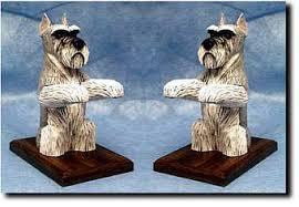 miniature schnauzer statues sculptures