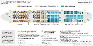 air france b777 200er business cl