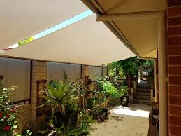 Roof To Fence Blinds All About Shade