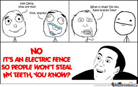 Electric Fence By Funzyy Meme Center