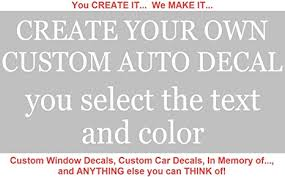 Amazon Com Custom Business Decals For Vehicles Create Your Own Business Decals For Trucks Business Decals For Car Doors Business Decals For Windows Car Business Decals Vinyl Arts Crafts Sewing
