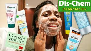 skincare from dis chem and gurl