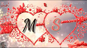 خلفيات حرف s و m
