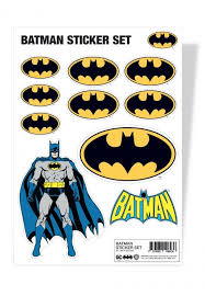 Batman Set Sticker Impericon Com Us