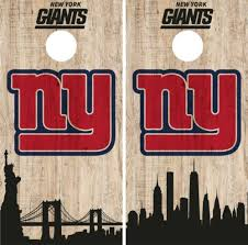 New York Giants Cornhole Wrap Nfl Game City Skyline Skin Vinyl Decal Set Co876 Cornhole Bag Toss