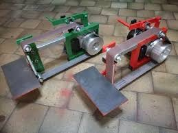 belt grinder knife making tools