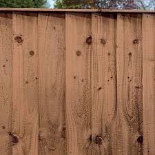 6ft X 6ft Pressure Treated Feather Edge Flat Top Fence Panels Mercia Garden Products