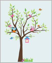 Forest Wall Decals Woodland Wall Stickers Nature Animal Wall Decal Nurserydecals4you