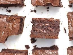 triple chocolate brownies suebee