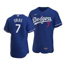Dodgers Julio Urias Authentic Jersey ...