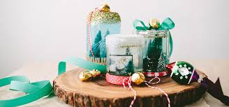 ziploc diy homemade snow globe