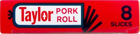 taylor thin sliced pork roll 6 oz