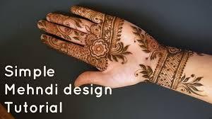 simple mehndi design photos download