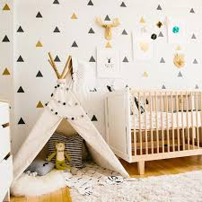 Little Triangles Wall Decals For Baby Boy S Room Removable Decorative Wall Stickers For Nursery Wall Decor In 2020 Kids Room Wall Decals Wall Stickers Bedroom Nursery Wall Decor