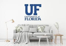 University Of Florida Usa Florida Universities Logo Wall Decal Sticker Egraphicstore