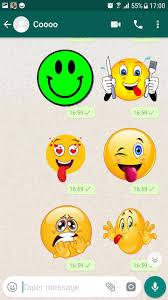 ملصقات ايموجي مضحكه Wastickerapps Pour Android Telechargez L Apk