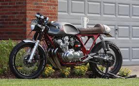 garage built honda cb750k cafe racer