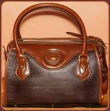 vintage dooney satchel shoulder bag
