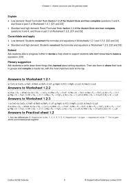 gcse science chemistry worksheet on the