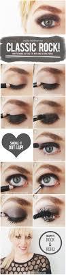 punk rock eye makeup cat eye makeup