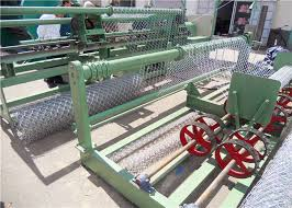 Galvanized Wire Chain Link Fence Weaving Machine Chain Link Wire Machine 3 8t