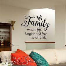 Pin On Family Room Wall Quotes