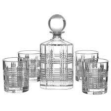 salt pepper bond whisky glasses