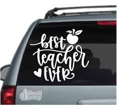 Education School Car Decals Stickers Decal Junky