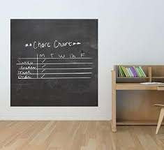 Amazon Com Huge 47 Square Chalkboard Vinyl Wall Decal Chalkboard Decals Nursery Wall Chalkboard Kid S Chalkboard Decals Children S Chalkboard Wall Decals Plus Free 12 Black Custom Name Decal Arts Crafts Sewing