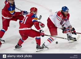 From left: Artyom Zub and Dmitry Orlov of Russia and Jakub Voracek Stock  Photo - Alamy