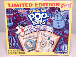 frosted sugar cookie pop tarts