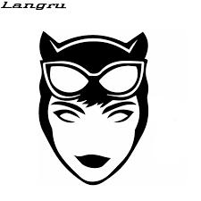 Langru New Style Cartoon Film Heroes Sexy Temptation Catwoman Car Sticker Car Styling Vinyl Decal Jdm Jdm Style Car Stylingsticker Car Aliexpress
