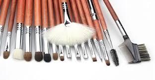 professional makeup brush set on s