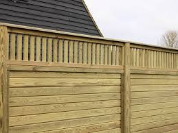 Roman Timber Decorative Fence Topper Panel Jacksons Fencing Esi External Works