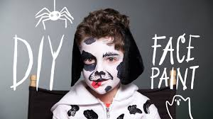 face paint dog makeup for