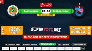 Alanyaspor - Trabzonspor Canli izle Maç yayını Şifresiz Kesintisiz ...
