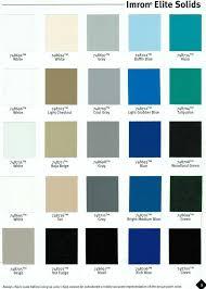 industrial paint colour chart trinity