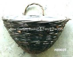 metal wall hanging flower baskets china