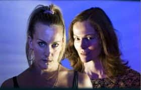Lisa Gorgin and Selina Giles star in The Wasp - Jermyn Street Theatre