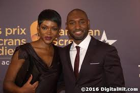 Caroline Chikezie and Adrian Holmes   4th Canadian Screen Awards ...
