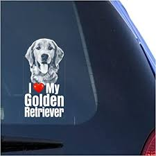 Amazon Com Golden Retriever Mom Version 2 Car Vinyl Sticker Decal Bumper Sticker For Auto Cars Trucks Windshield Custom Walls Windows Ipad Macbook Laptop Home And More White Automotive