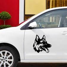 Vinyl Dog Car Decal For Truck Window Bumper Auto Suv Door Laptop Kayak Vinyl Decal Car Stickers Aliexpress