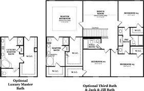 floor plan jack jill bathroom google