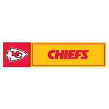 Nfl Kansas City Chiefs Kansas City Chiefs 11 X 3 Bumper Sticker Skinit