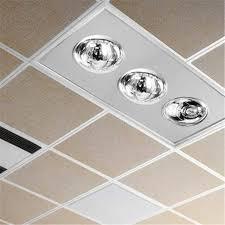ceiling heater fan heat lamp bulb