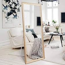 h a full length floor mirror 65 x22